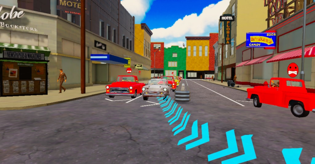 About Traffic Cop VR